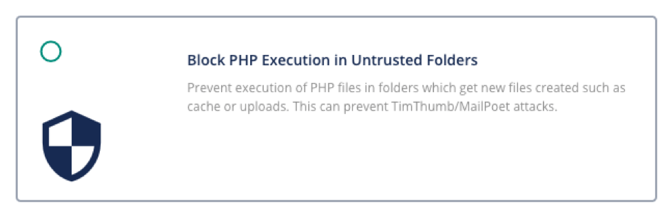 Block-PHP-Execution-Notification