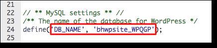 wpconfig-database-name
