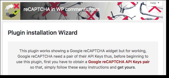 Activating-reCAPTCHA-in-WP-comments-form-plugin