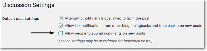 Disabling-comments-on-new-posts