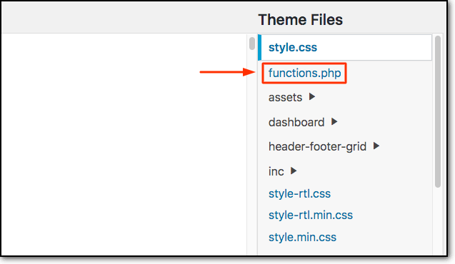 Locating-the-functions.php-file-in-Theme-Files