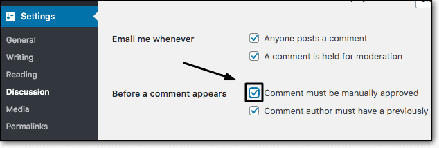 Turn-on-Comment-Moderation