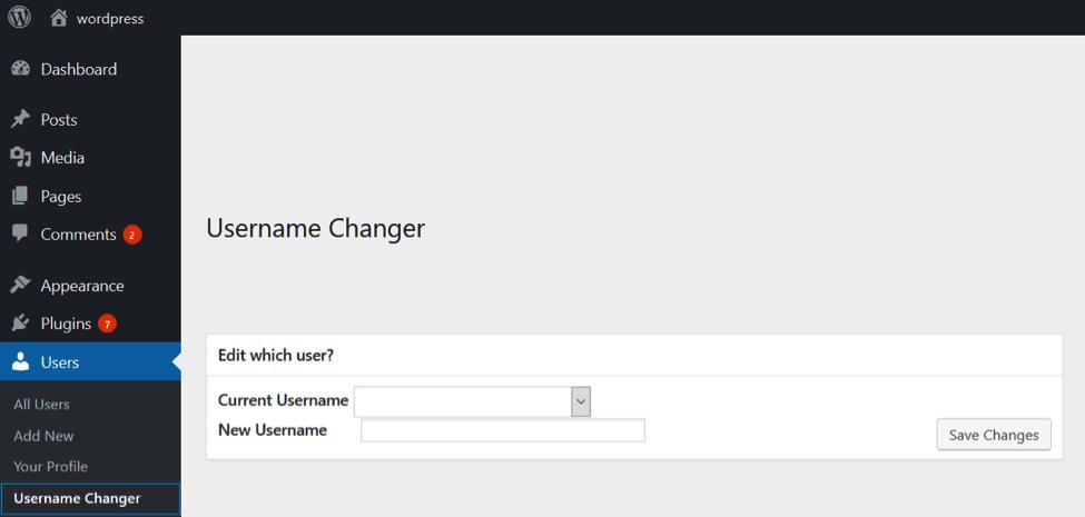 change-wordpress-username-plugin