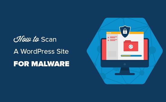 check wordpress site for malware