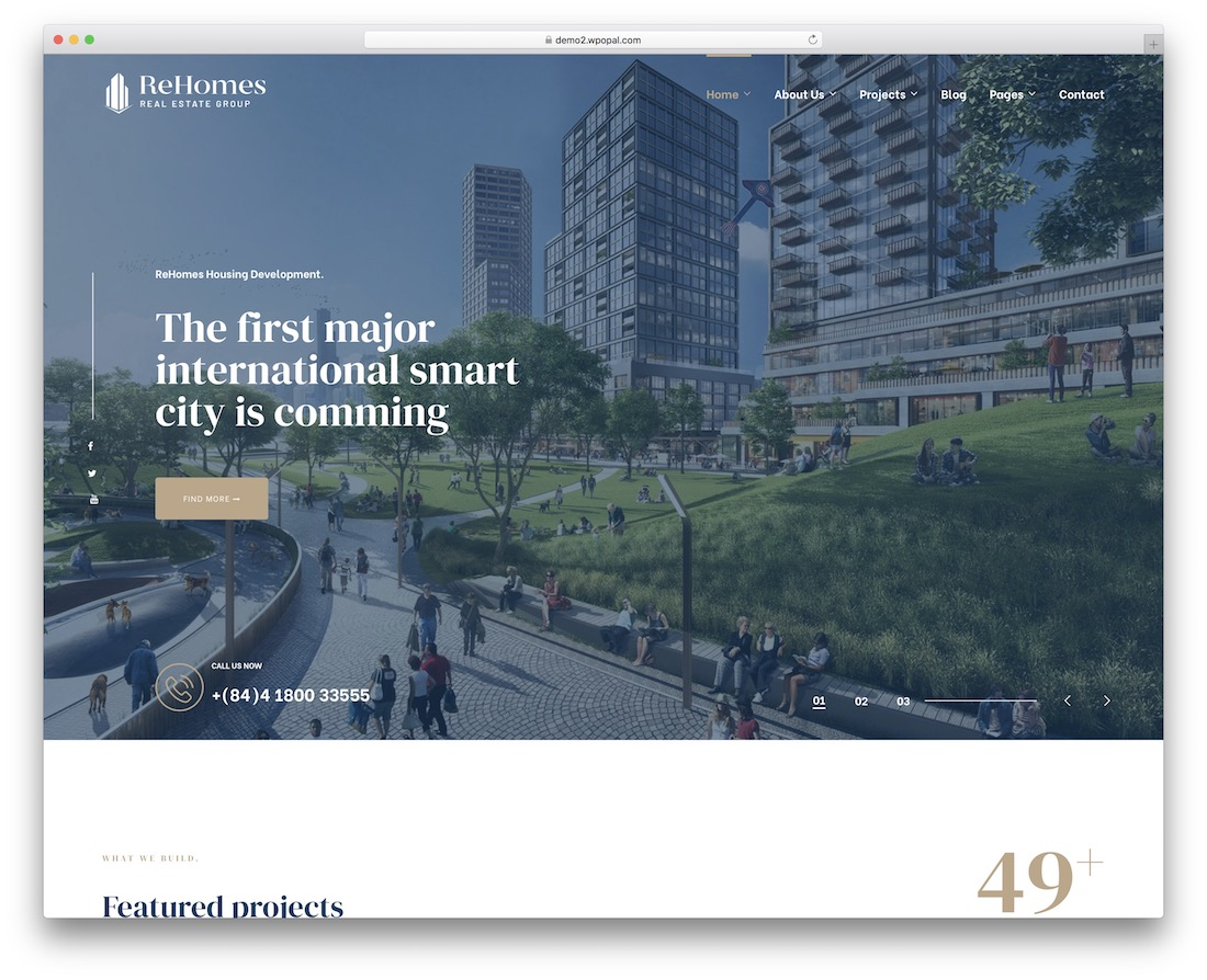 Best Real Estate WordPress Themes - Rehomes