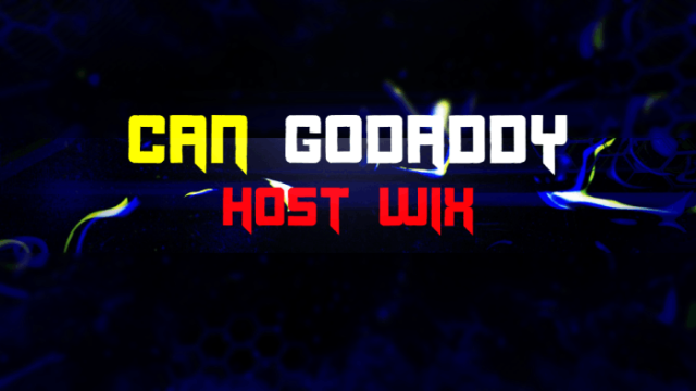Can Godaddy Host Wix