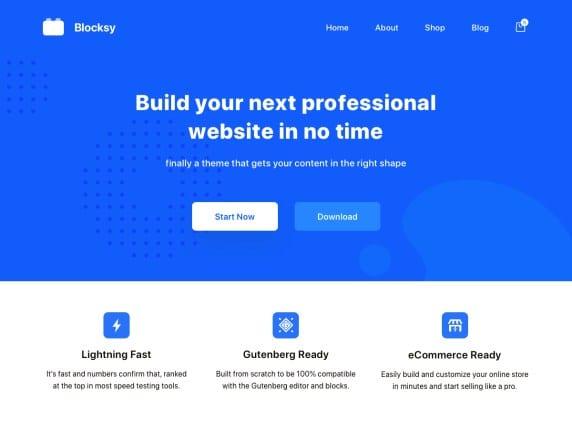 Free WordPress Blog Theme - Blocksy