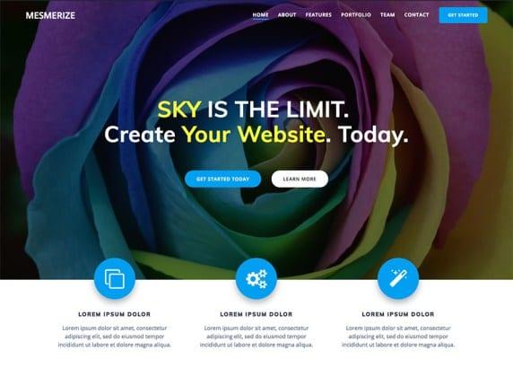 Free WordPress Blog Theme - Mesmerize