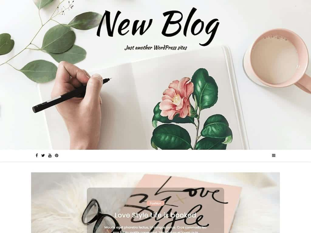 Free WordPress Blog Theme - New Blog