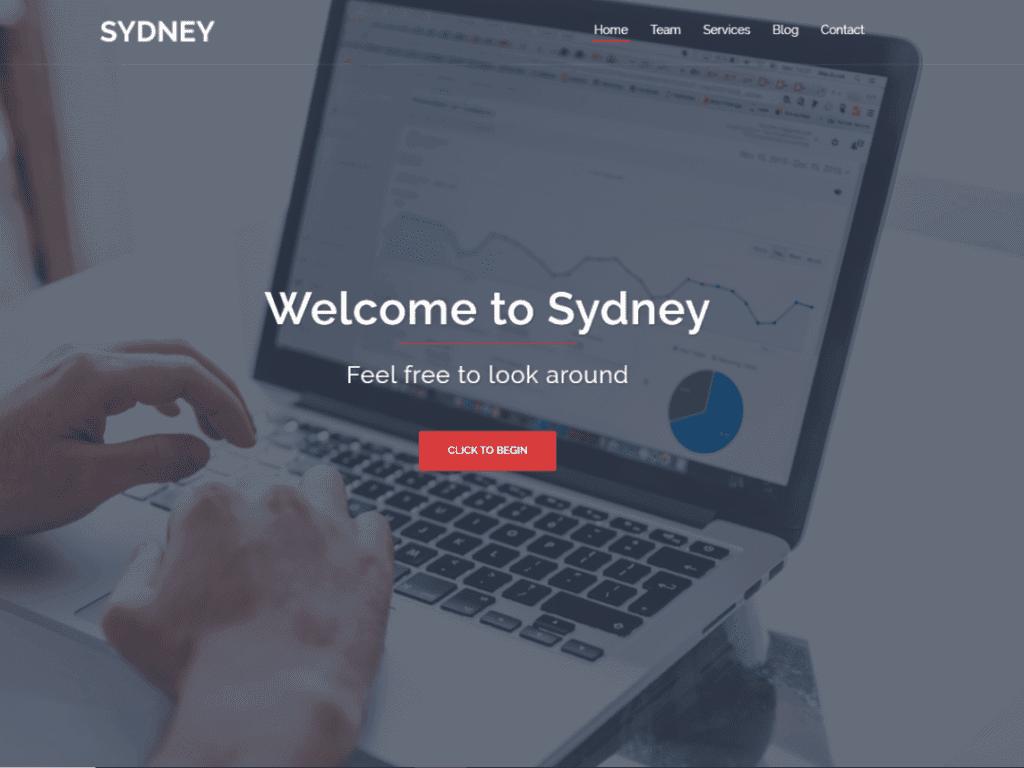Free WordPress Blog Theme - Sydney
