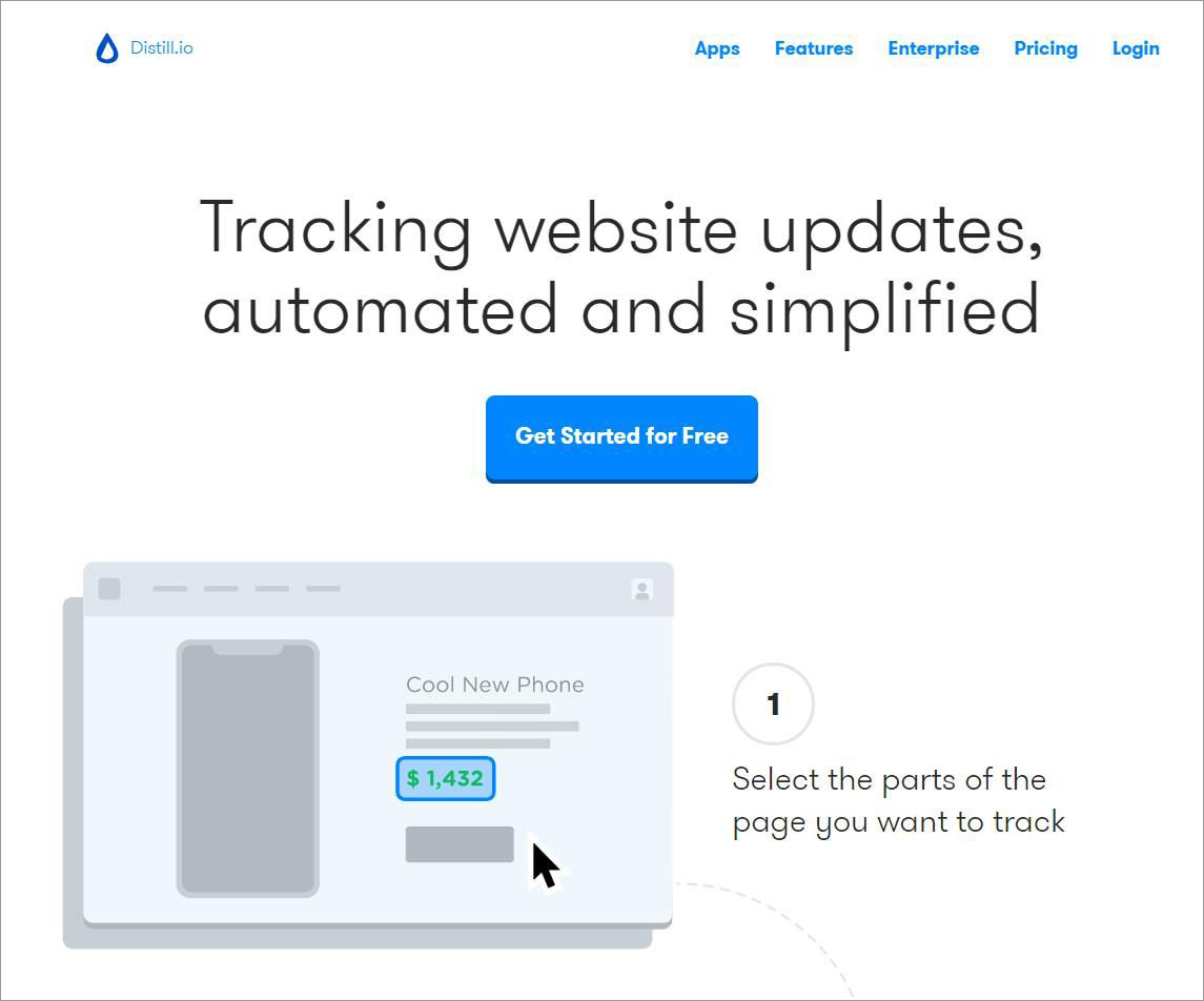 Distill.io - Best Free Tools to Monitor Content Changes
