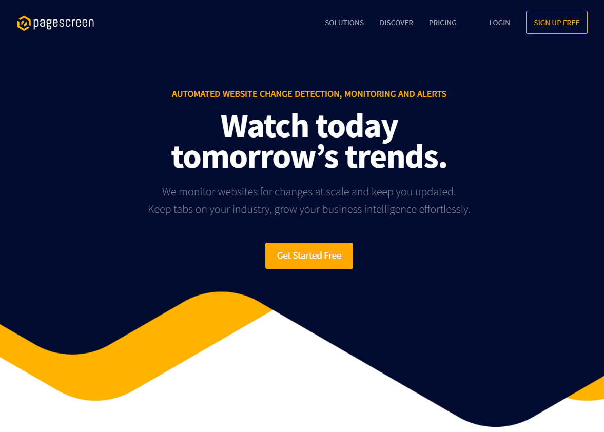 Pagescreen - Best Free Tools to Monitor Website Changes